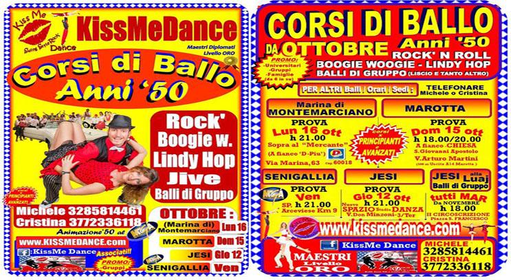 Corsi di Ballo Senigallia, Jesi, Marotta, Montemarciano